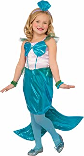 Forum Novelties Kids Aquaria The Mermaid Costume, Blue, Medium