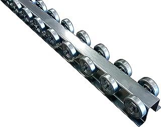 Skate Wheel Flow Rail - Conveyor 5` Long - Flow Rack Conveyor Rail