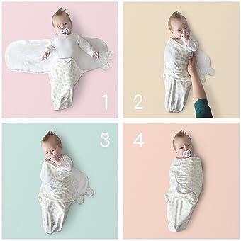 Saco De Dormir De Manta Envoltura de Algod/ón Suave Para Beb/é Reci/én Nacido Modelo 14