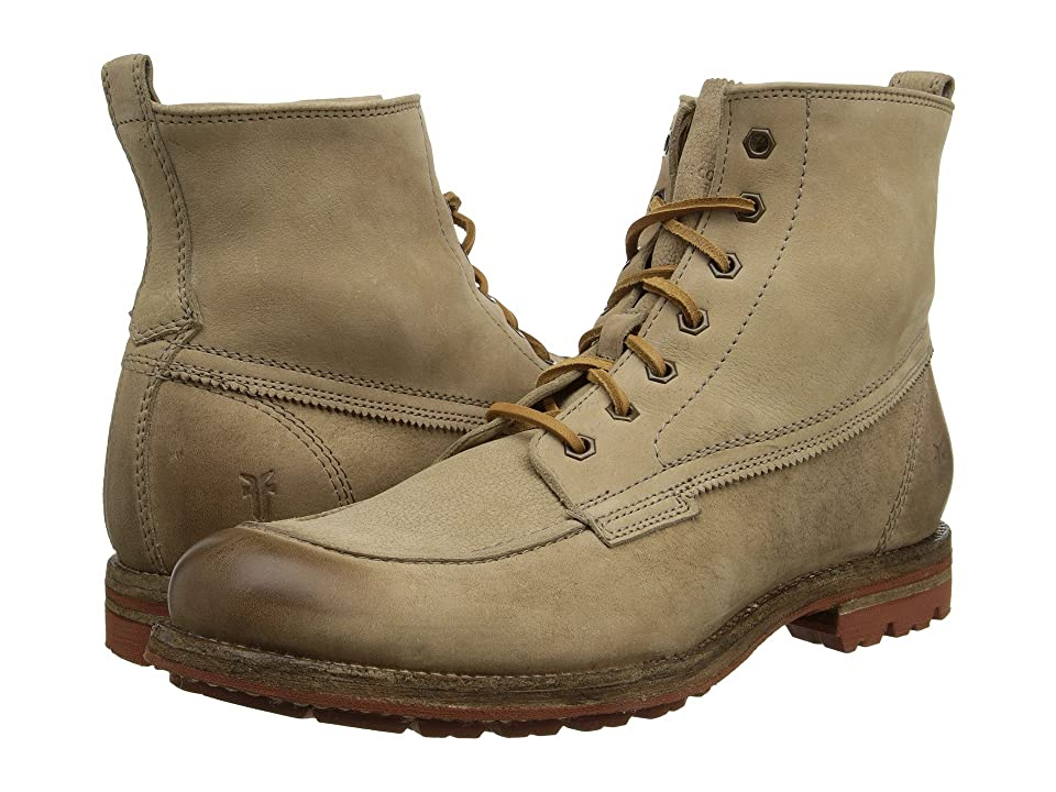 Frye Phillip Lug Workboot (Cement Textured Full Grain) Men