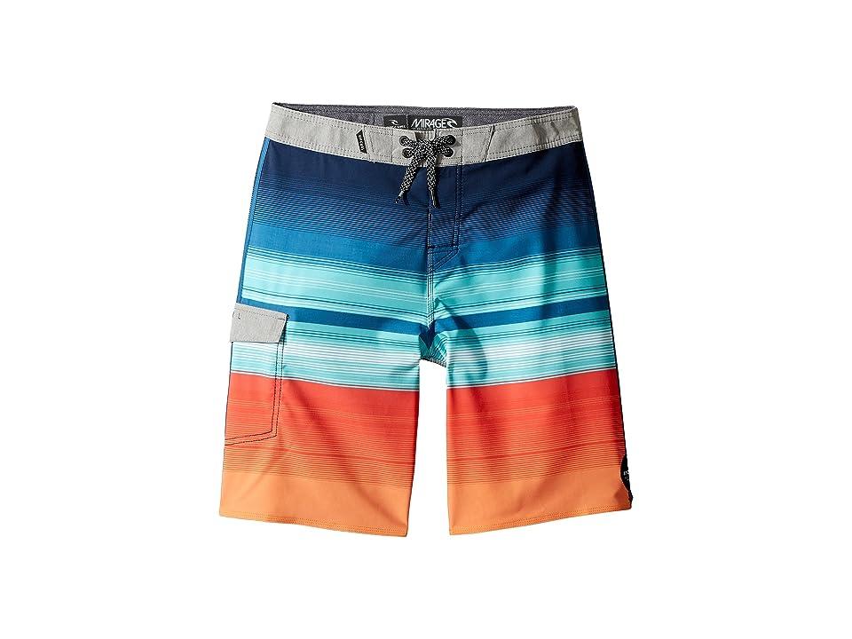 Rip Curl Kids Mirage Accelerate Boardshorts (Big Kids) (Navy) Boy