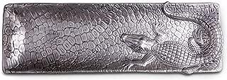 Arthur Court 19-Inch Oblong Alligator Tray