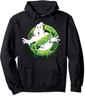 Ghostbusters Classic Slime Ghost Logo Pullover Hoodie