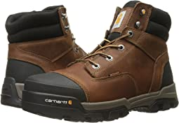 "6"" Ground Force Waterproof Non-Safety Toe Work Boot"