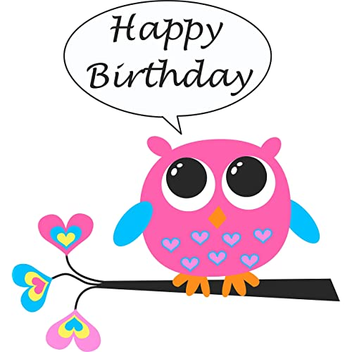 Terrific Owl Cake Topper Amazon Com Personalised Birthday Cards Sponlily Jamesorg
