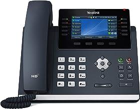 $149 » Yealink T46U IP Phone, 16 VoIP Accounts. 4.3-Inch Color Display. Dual USB 2.0, Dual-Port Gigabit Ethernet, 802.3af PoE, Po...