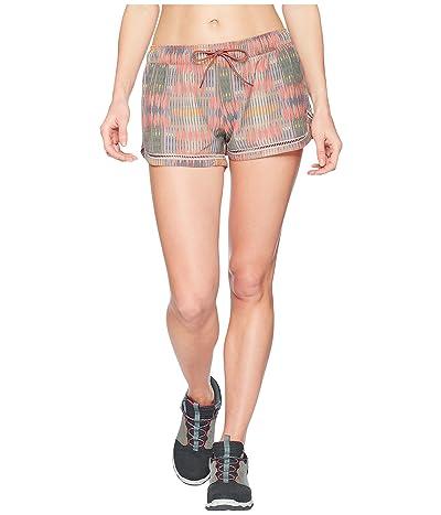 Prana Mariya Shorts (Carmine Desert Geo) Women