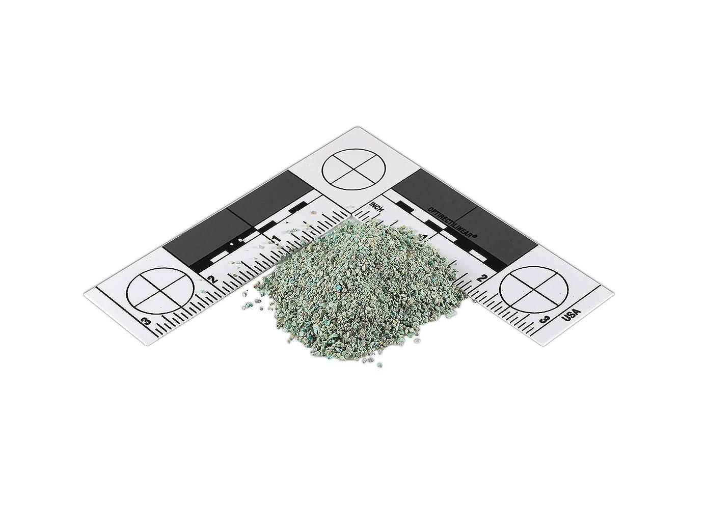 Green Chrysocolla, Crushed Inlay (Medium) (1/2 oz)