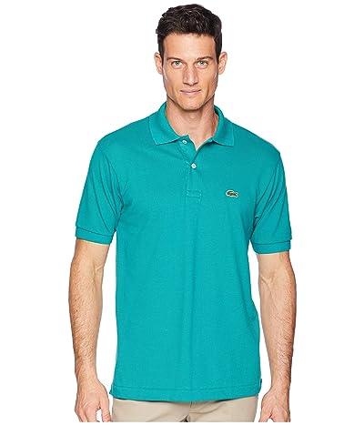 Lacoste Short Sleeve Classic Pique Polo Shirt (Bailloux) Men
