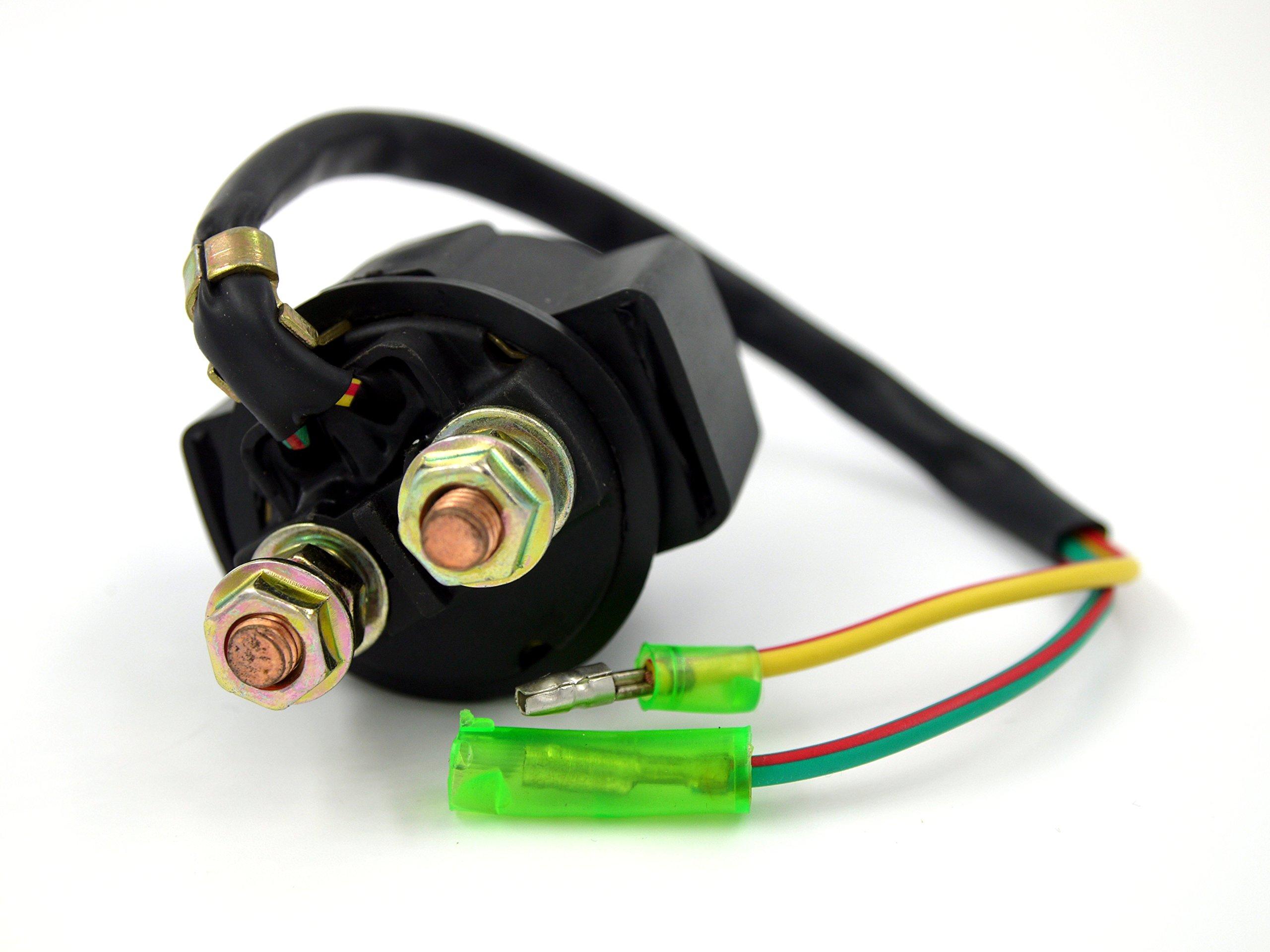 Sym DD 50 Starter Relay 4 Pin