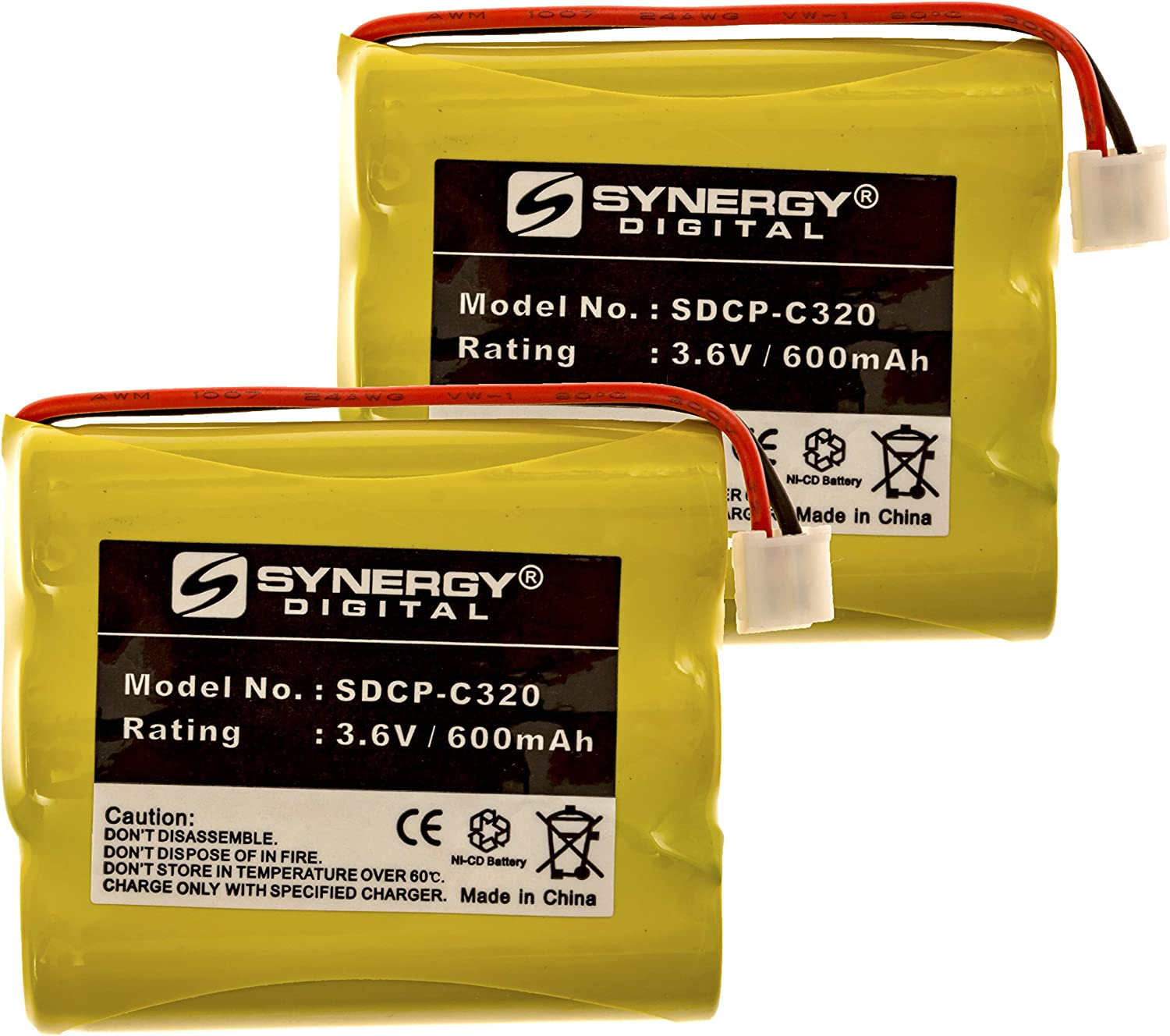 GE 26992GE1 Cordless Phone Battery Includes: Fashion SDCP Combo-Pack x Ranking TOP11 2