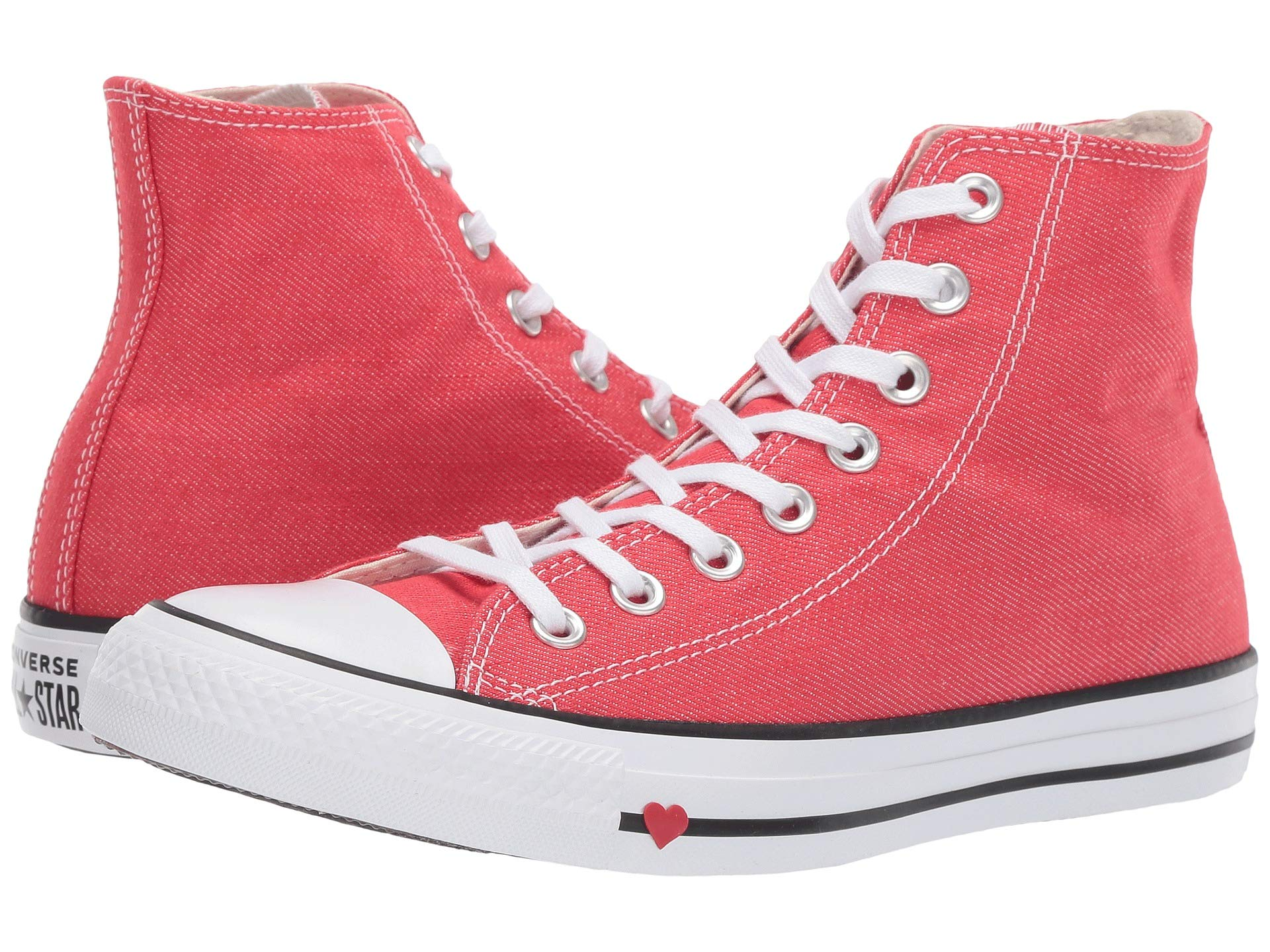 7e9f45e9d033 Sneakers Star® white Red All black Converse Chuck amp  Love Taylor® Shoes  Denim Athletic ...