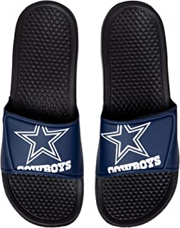 FOCO NFL Dallas Cowboys Unisex Big Logo Slide-Big Logo Slde