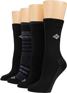 womens 4 Pack Moisture Control Crew Sock, Multipack