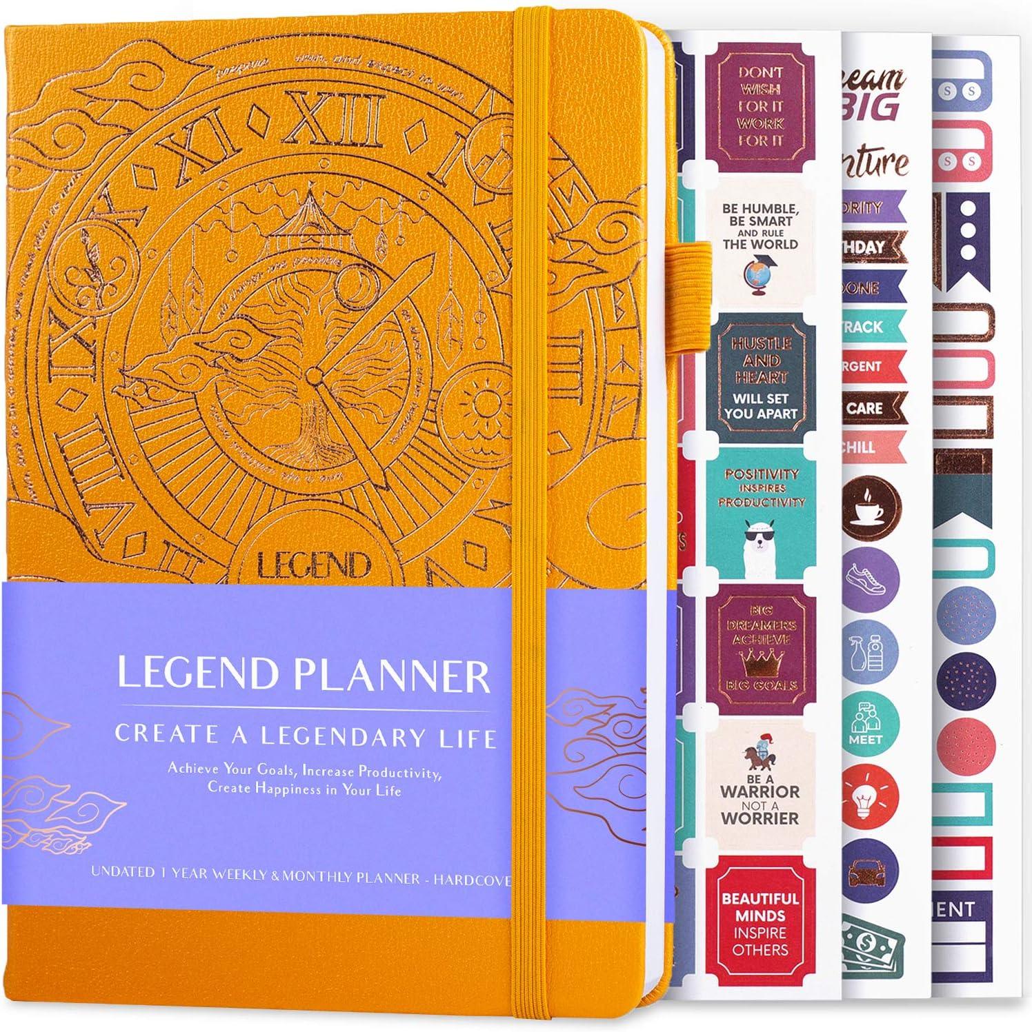 Legend Planner Deluxe Wochenplaner & Monatsplaner, um Ihre Ziele ...