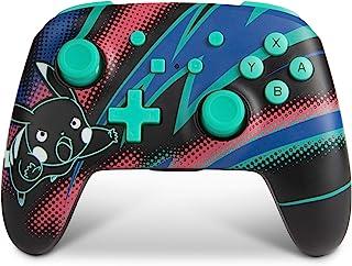 POWER A Pokemon Enhanced Wireless Controller for Nintendo Switch - Pikachu Neon, Nintendo Switch Lite, Gamepad, Game Contr...
