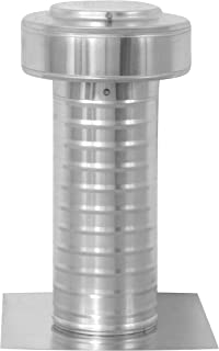 5 inch Diameter Keepa Vent an Aluminum Roof Vent for Flat Roofs