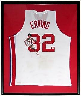 23455748 Julius Erving Dr. J Signed L Adidas Nets Throwback Jersey - JSA COA  Authenticated -