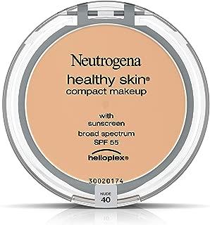 Neutrogena Healthy Skin Compact Makeup Foundation, Broad Spectrum Spf 55, Nude 40,.35 Oz.