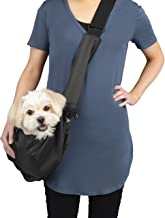 cloak & dawggie Pet Carrier Sling Bag for Small Breed or Puppy, Dog and Cat Travel Bag…
