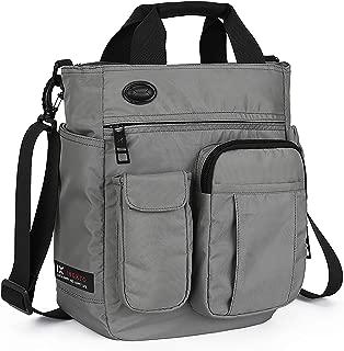 Small Shoulder Messenger Bag,Crossbody Business Laptop Multifunctional Pocket Bags for Travel School Work Men Women