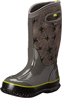 Bogs Kids' Classic High Waterproof Insulated Rubber Neoprene Rain Boot