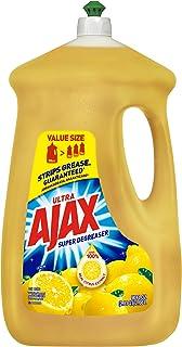 Ajax 149110 Ultra Dish Liquid, Super Degreaser Lemon, 90 fl. oz