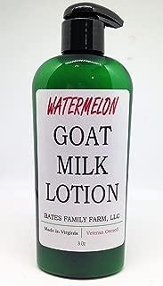 Bates Family Farm Goat Milk Lotion (Watermelon Fragrance)
