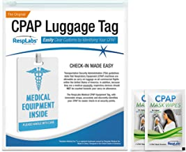 RespLabs CPAP Medical Device Luggage Tag — CPAP Travel Supplies