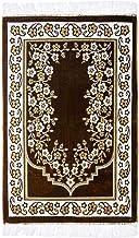 Area Rug Muslim Prayer Rug Elegant Turkish Rug Double Layers Printed Prayer mat, Size 27.5 x 43.5 inch, by Rosehut