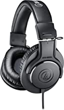 Audio-Technica ATH-M20x Professional Studio Monitor...