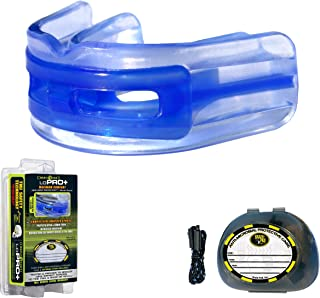 Brain-Pad LoPro+ Double Laminated Strap/Strapless Combo in one Mouthguard