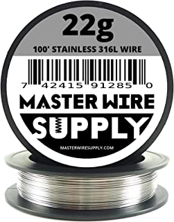 Stainless Steel 316L - 100' - 22 Gauge Wire