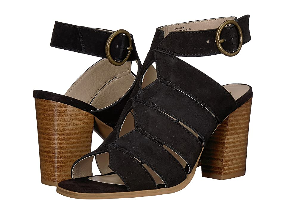 Seychelles Completely Engaged (Black Suede) High Heels