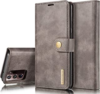 for Samsung Galaxy S20 FE Case Honeach Sturdy Leather Wallet Flip Case Magnetic Clasp with Cash Credit Card Slots Samsung S20 FE Case 6.5 Inch 2020 Rose Gold