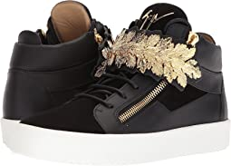Giuseppe Zanotti May London Crown Mid Top Sneaker