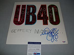 UB40 ALI CAMPBELL signed autographed