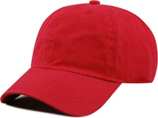 red toddler hat