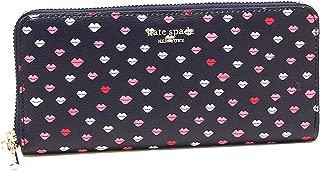 Kate Spade Sylvia lips slim continental wallet