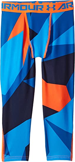 Under Armour Kids - Armour 3/4 Printed Leggings (Big Kids)