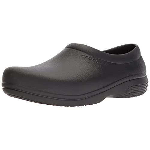 7da10c16dd Crocs Men s and Women s On The Clock Work Slip Resistant Work Shoe