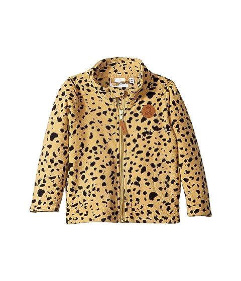 mini rodini Fleece Spot Jacket (Infant/Toddler/Little Kids/Big Kids)
