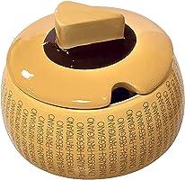 Parmiggiano Reggiano - Quesera clásica de cerámica con cuchara