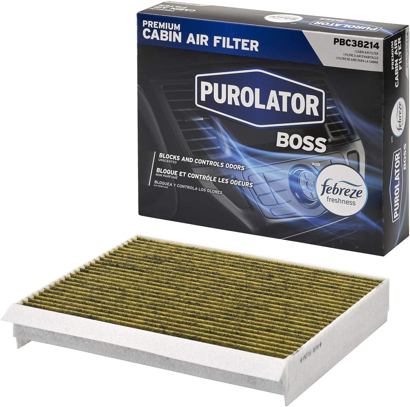 Purolator PBC38214 PurolatorBOSS Premium Ranking TOP3 Cabin F Deluxe with Air Filter