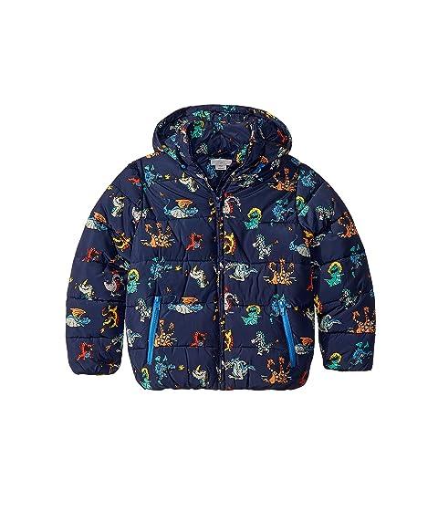 Stella McCartney Kids Dragon Puffer Coat (Toddler/Little Kids/Big Kids)