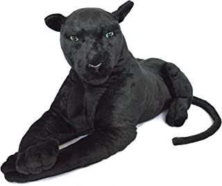 VIAHART Pana The Black Panther | 42 Inch (Excluding The Tail!) Big Stuffed Animal Plush Leopard | Shipping from Texas | by Tiger Tale Toys