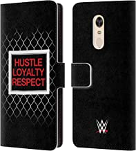 Official WWE John Cena Beware of Dog 2018/19 Superstars 5 Leather Book Wallet Case Cover Compatible for Xiaomi Redmi 5 Plus