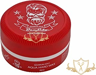 3 x bandido Hair Wax Red pelo Wax Aqua Hard Wax