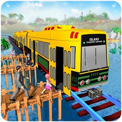 Insel Zug Ladung Transport Simulator 2018