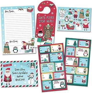 Paper Projects 01.70.24.065 Biegun północny Boże Narodzenie list do Świętego Mikołaja i opakowanie etykiet upominkowych